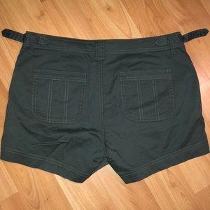 Athleta Shorts - Athleta organic cotton shortie in jasper green